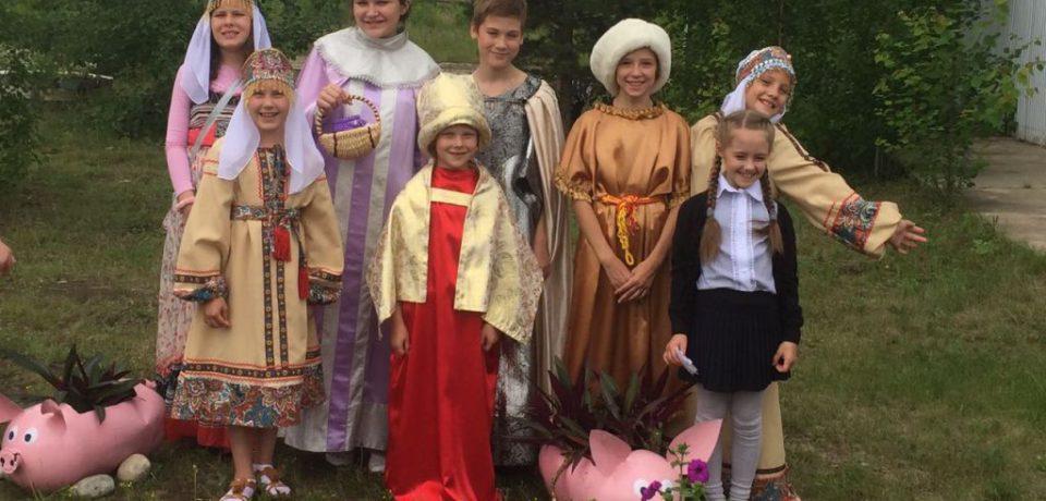 Дети из Центра православной культуры  посвятили творческий тур Году семьи в Ленском районе