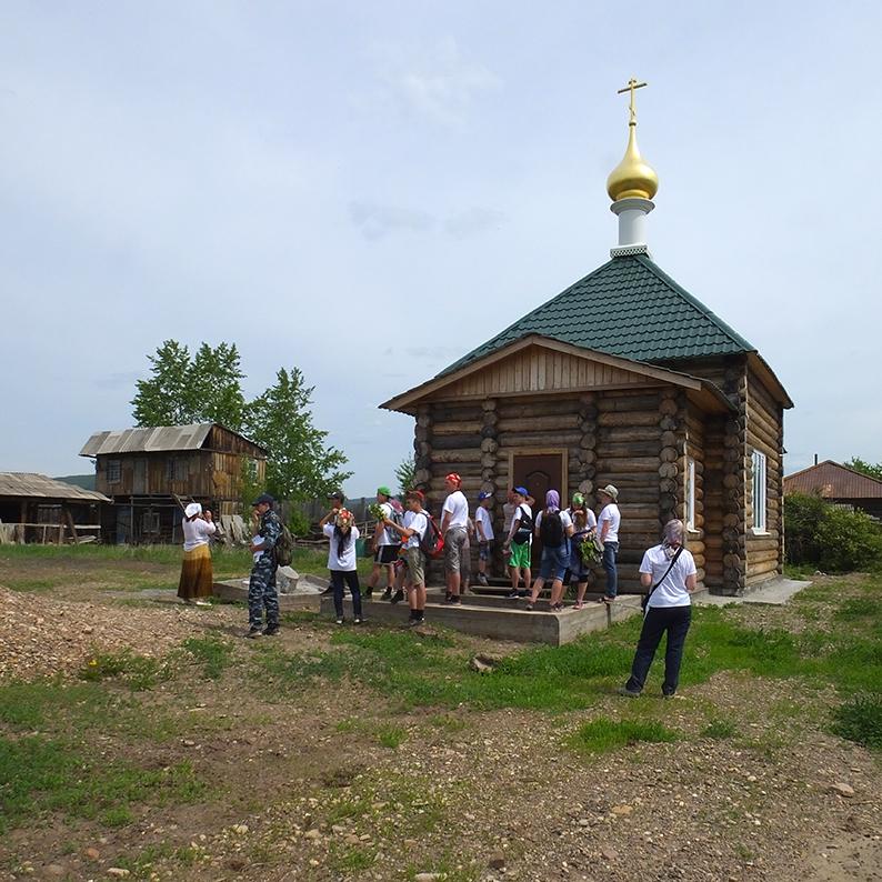 Новый храм в Верхне-Марково