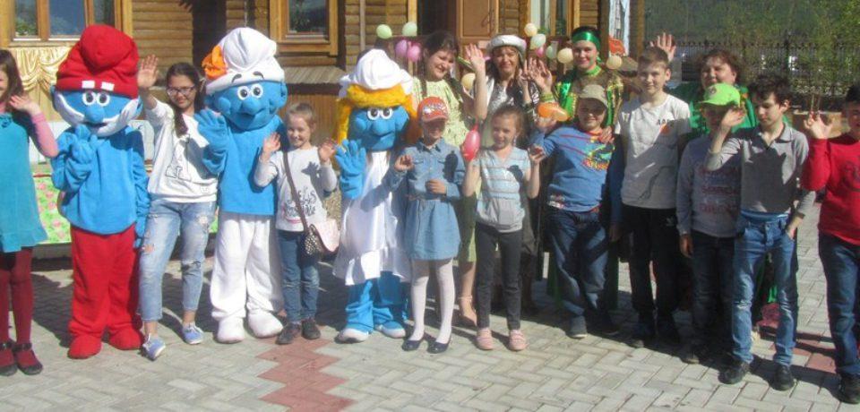 День защиты детей в Центре православной культуры.